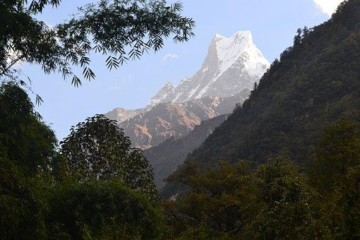 Mountain, Trekking, Nepal, Beauty, Outdoor, Travel