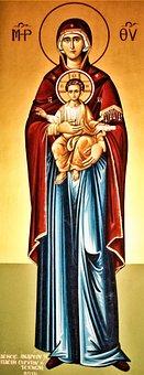 Panagia, Virgin Mary, Iconography, Church, Orthodox