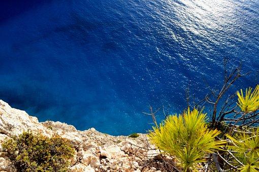 Sea, Greece, Zakynthos, Rocks, Turquoise, Water, Summer