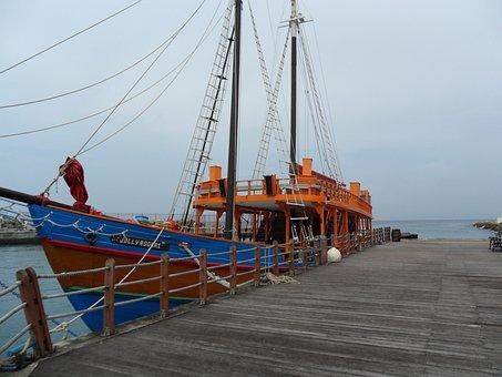 Barbados, Caribbean, Bridgetown, Boot, Sailing Boat