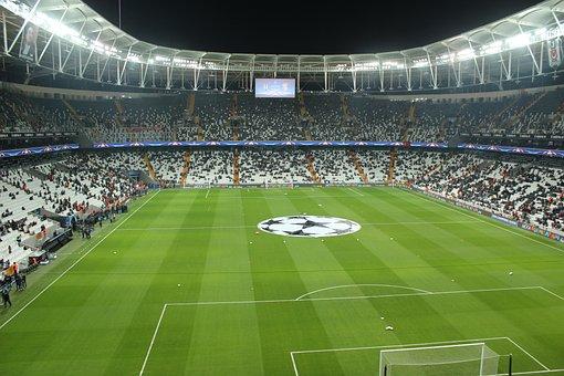 Vodafone, Arena, Besiktasta, Benfica, Champions, League