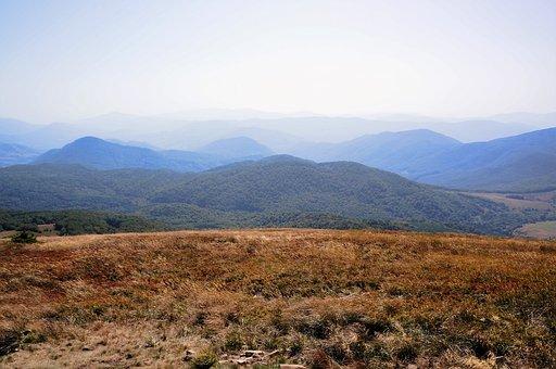 Bieszczady, Połonina, Mountains, Landscape, Autumn
