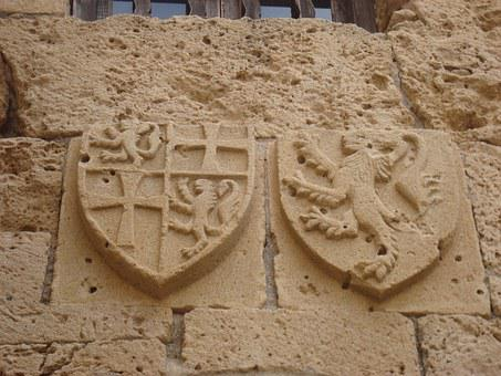 Coat Of Arms, British Emblems, Fortress