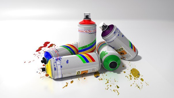 Paint Bombs, Colors, Graffiti, Bomb, Painting, Red