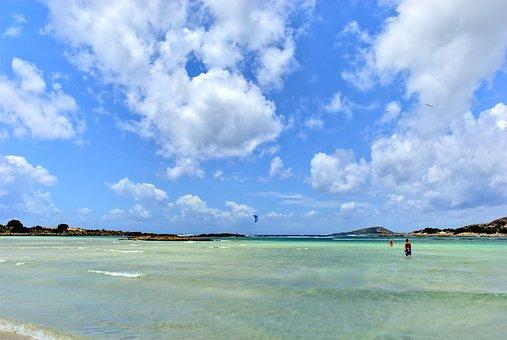 Greece, Crete, Elafonisi, Beach, The Sun, Holidays