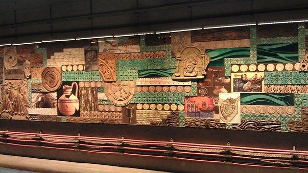 Istanbul, Subway, Underground, Station, Decoration