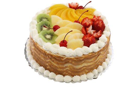 Cake, Fruit, Dessert, Bakery, Birthday, Baking