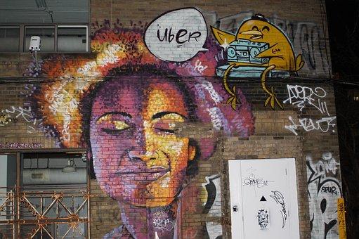Mural, Graffiti, Street, Paint, Urban, Grunge, Design