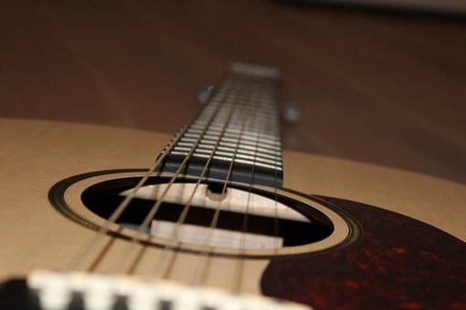 Musical Instrument, Music, Strings, Acoustic Guitar