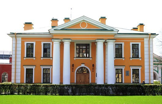 Building, Historic, Architecture, Neo-classical, Walls