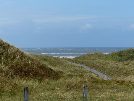North Sea, Dunes, Sea, Coast, East Frisia, Spiekeroog