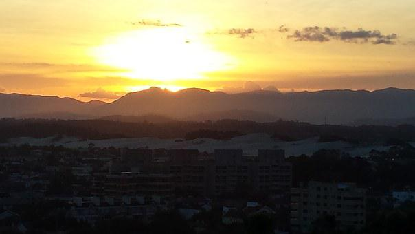 Sunset, Coast Gaucho, Torres, Rio Grande Do Sul