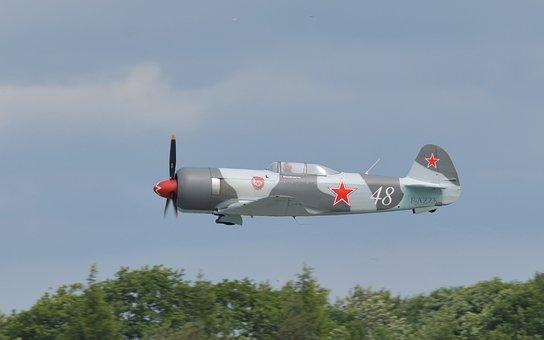Airplane, Fighter Aircraft, Yakolev, Yak-3u