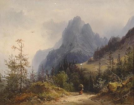 Heinrich Schubert, Art, Artistic, Artistry, Painting