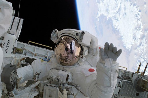 Astronaut, Wave, Soichi Noguchi, Space Travel, Space