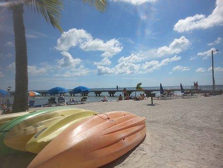 Kayak, Key West, Boat, Beaches, Kayaking, Island