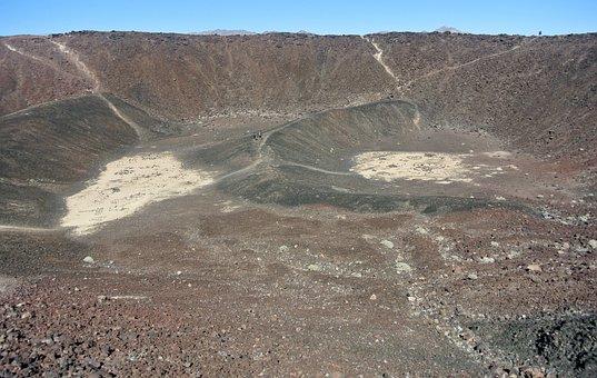 Amboy Crater, Interior, Crater, San Bernardino County