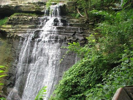 Cuyahoga Valley National Park, Brandywine Falls, Ohio