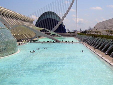 Valencia, España, Ciudad De Las Artes