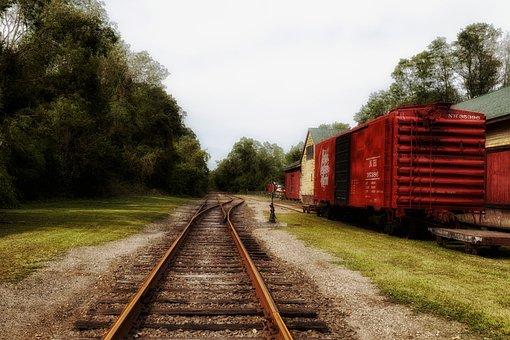 Goodspeed, Connecticut, Boxcars, Railroad, Railway