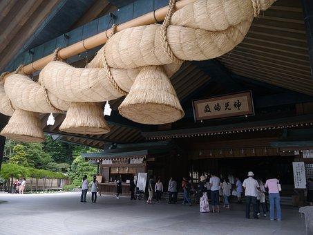 Izumo, Izumo Taisha, Huge, Shimenawa