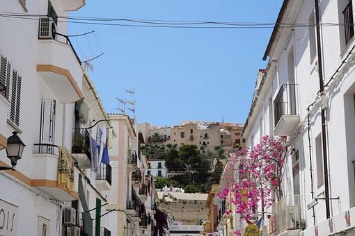 Ibiza, Eivissa, City, Road