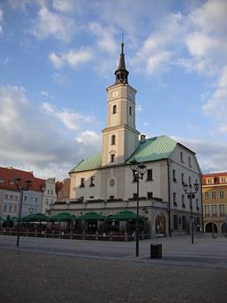 Gliwice, Poland, The Town Hall, Building, Monument