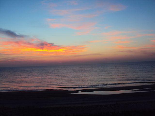 Bethany Beach, Sunrise, Atlantic Ocean, Ocean, Beach