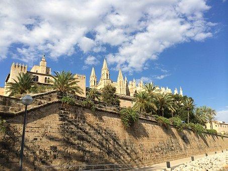 Palma, Cathedrale, Sunshine