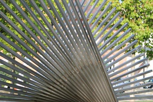 Art, Park, Oberursel, Modern, Sculpture, Artwork