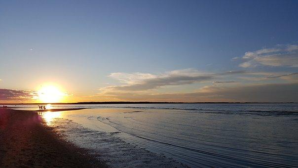 Parlee Beach, Moncton Nb, Canada, New Brunswick, Beach