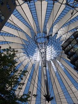 Berlin, Postdamer Place, Sony Center