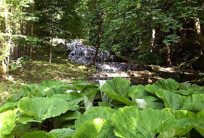 Veil Waterfall, Szilvásvárad, Nature, Water
