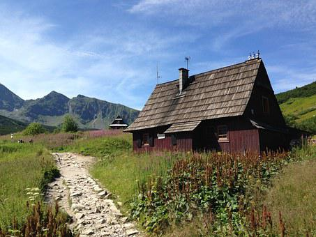 Mountains, Highlander's Cabin, Landscape, Tatry