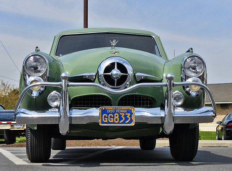 Studebaker, Antique Car, Antique, Car, Cars, Automobile