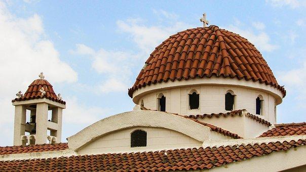 Cyprus, Liopetri, Ayia Trias, Church, Orthodox