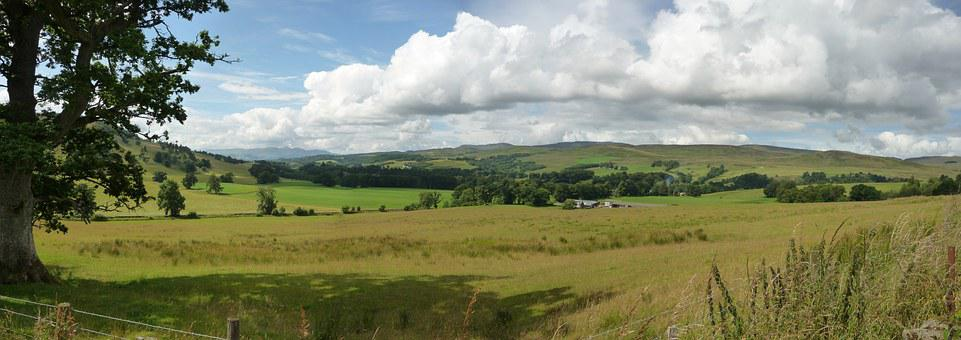 Landscape, Feild, Horizon, Clouds, Rural, Sky, Country