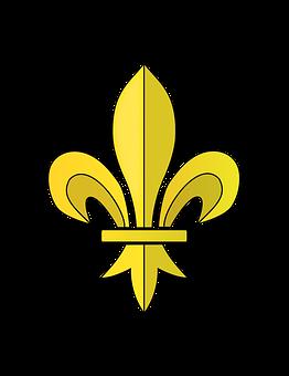 Fleur, Fleur De Lis, France, French, Roi