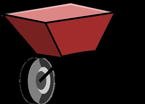 Borrow, Hand Borrow, Pushcart, Wheelbarrow