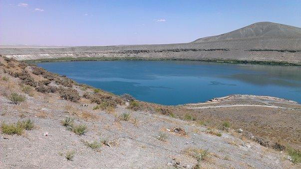 Lake Acıgöl, Konya, Kato