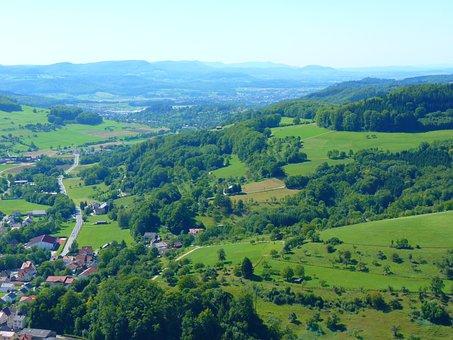 Nenningen, Swabian Alb, Landscape, Idyll, Forest