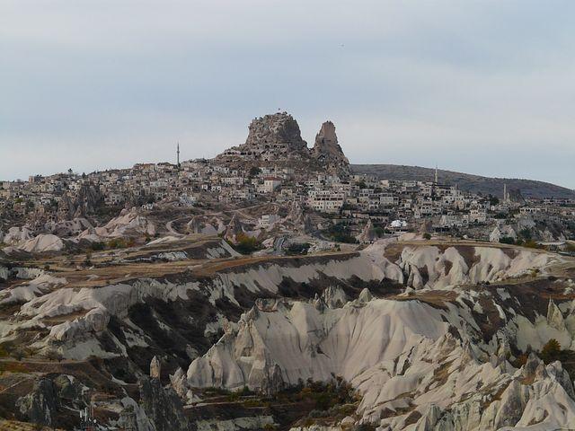 Uchisar, Place, Cappadocia, Nevşehir Province, Turkey
