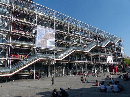 Center Pompidou, Paris, Art