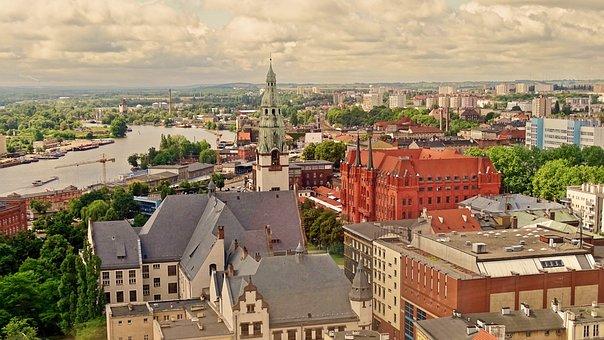 Poland, Stettin, Clouds