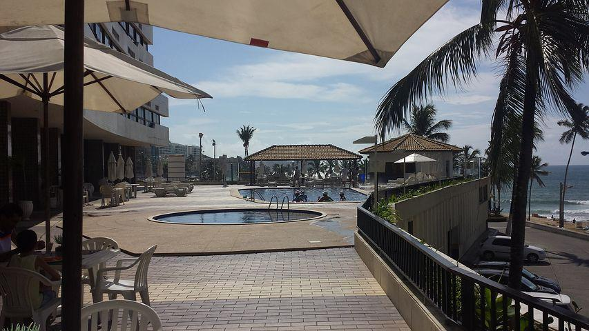Terrace, Hotel, Beach, Salvador, Bahia, Ondinaapart