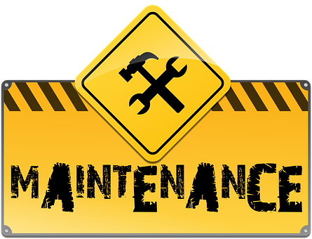 Maintenance, Under Construction, Web Site, Web Page