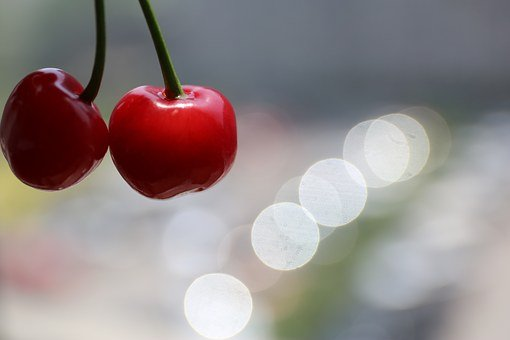 Cherry, Fruit, Joy, Receipt, Beautiful, Ppt Backgrounds