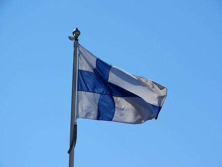 Finland, Finnish Flag, Siniristilippu, Blue Cross