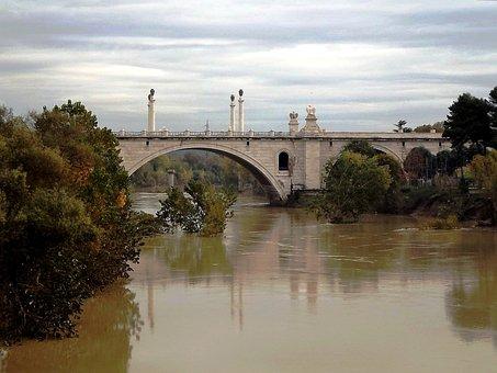 Rome, River, Tiber, Bridge, Italy, Roma Capitale