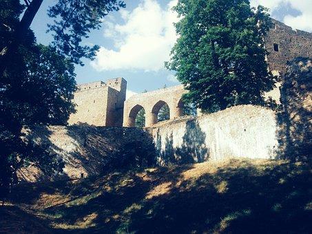 Velhartice, Ruins, Bridge, Architecture, Tourism